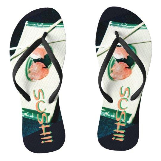 SUSHI! time for your flip flops! Flip Flops