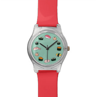 Sushi Time! Funky (Mint) Watch