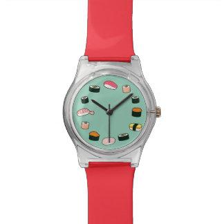 Sushi Time! Funky (Mint) Wristwatch