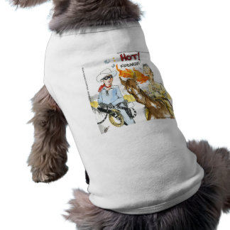 #Sushi Wasabi Of The Old West Funny Gifts Etc Dog T Shirt