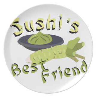 Sushis Friend Dinner Plate