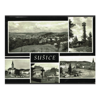 Sušice Czech Republic Postcard