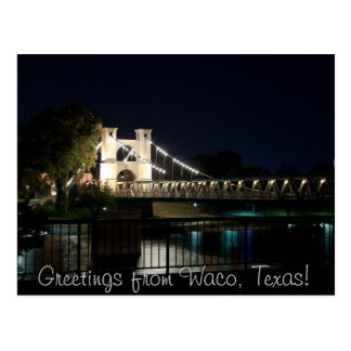 Suspension Bridge Postcard (w/Text)