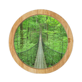 Suspension Bridge Rectangular Cheese Board