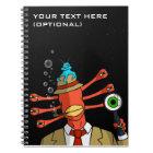 """Suspicious Alien"" Notebook"
