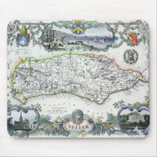 Sussex, engraved by W. Schmollinger Mouse Pad