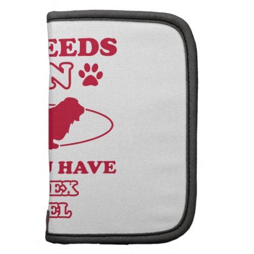 Sussex Spaniel dog breed designs Folio Planners