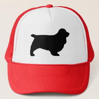 Sussex Spaniel Silhouette Trucker Hat