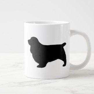 Sussex Spaniel Silhouettes Large Coffee Mug