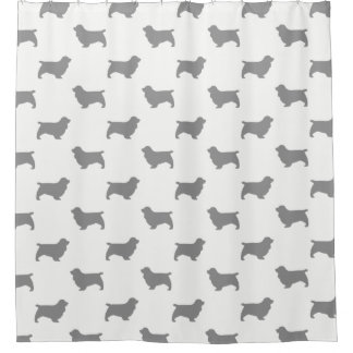 Sussex Spaniel Silhouettes Pattern
