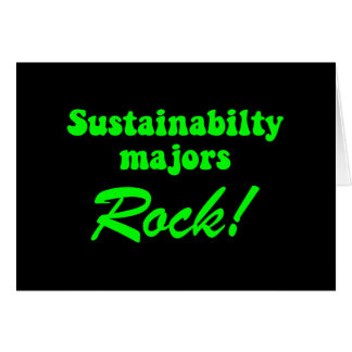 Sustainability Greeting Card