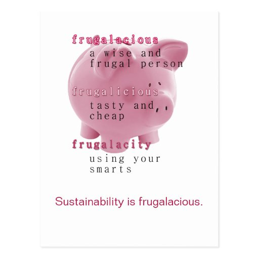 Sustainability Post Card