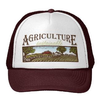 Sustainable Agriculture farm scene Trucker Hat