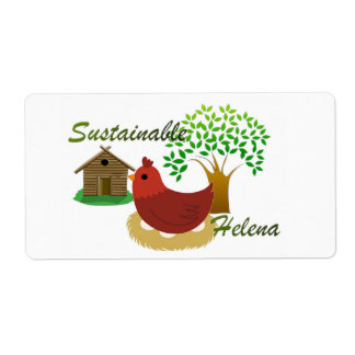 Sustainable Helena Labels