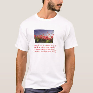 Sustainable Poppies! T-Shirt