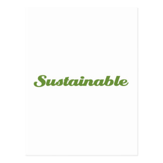 Sustainable Postcards