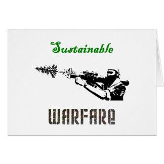 """Sustainable Warfare"" Cards"