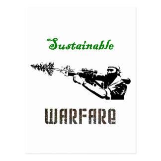 """Sustainable Warfare"" Postcards"