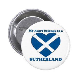 Sutherland 2 Inch Round Button