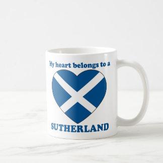 Sutherland Classic White Coffee Mug