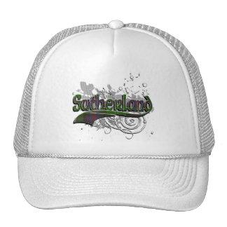 Sutherland Tartan Grunge Trucker Hat