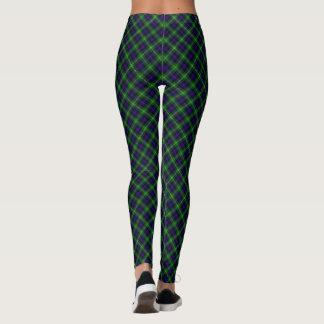 Sutherland tartan plaid leggings