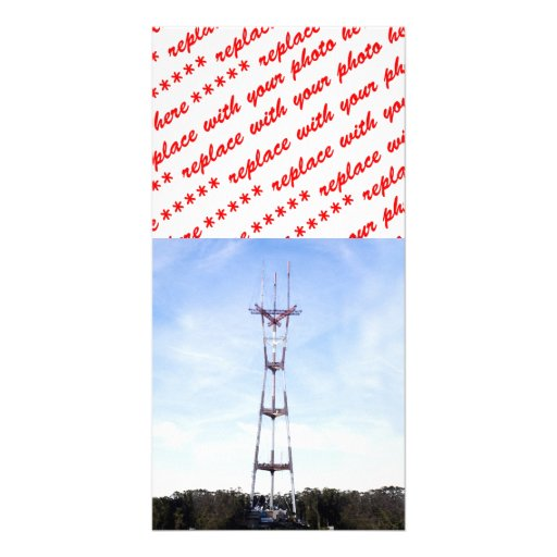 Sutro Tower Picture Card