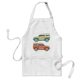 SUV vector edgy Standard Apron