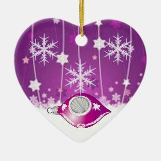 SUZANNE ELIZABETH CHRISTMAS COLLECTION CERAMIC ORNAMENT