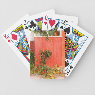 Suzanne on the Porch Bicycle Playing Cards
