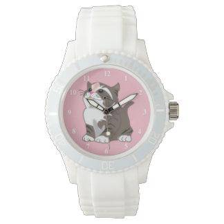 Suzi 1 - Women's Sporty White Silicon Watch