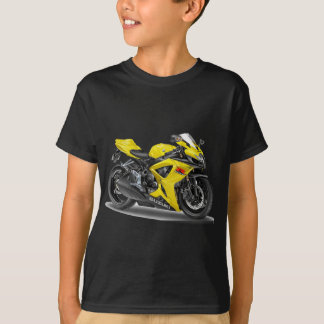 Suzuki GSX-R600 Yellow Bike T-Shirt