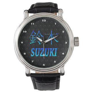 Suzuki Monogram Watch