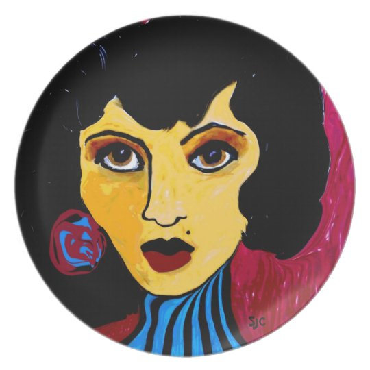 Suzy the Sorceress Plate
