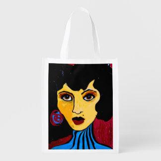 Suzy the Sorceress Reusable Grocery Bag