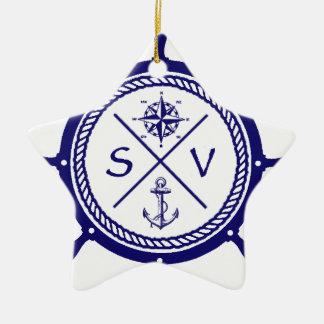 SV4 CERAMIC STAR ORNAMENT