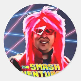 SV profile pic Classic Round Sticker