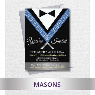 Masonic - Freemason Custom Cards & Gifts