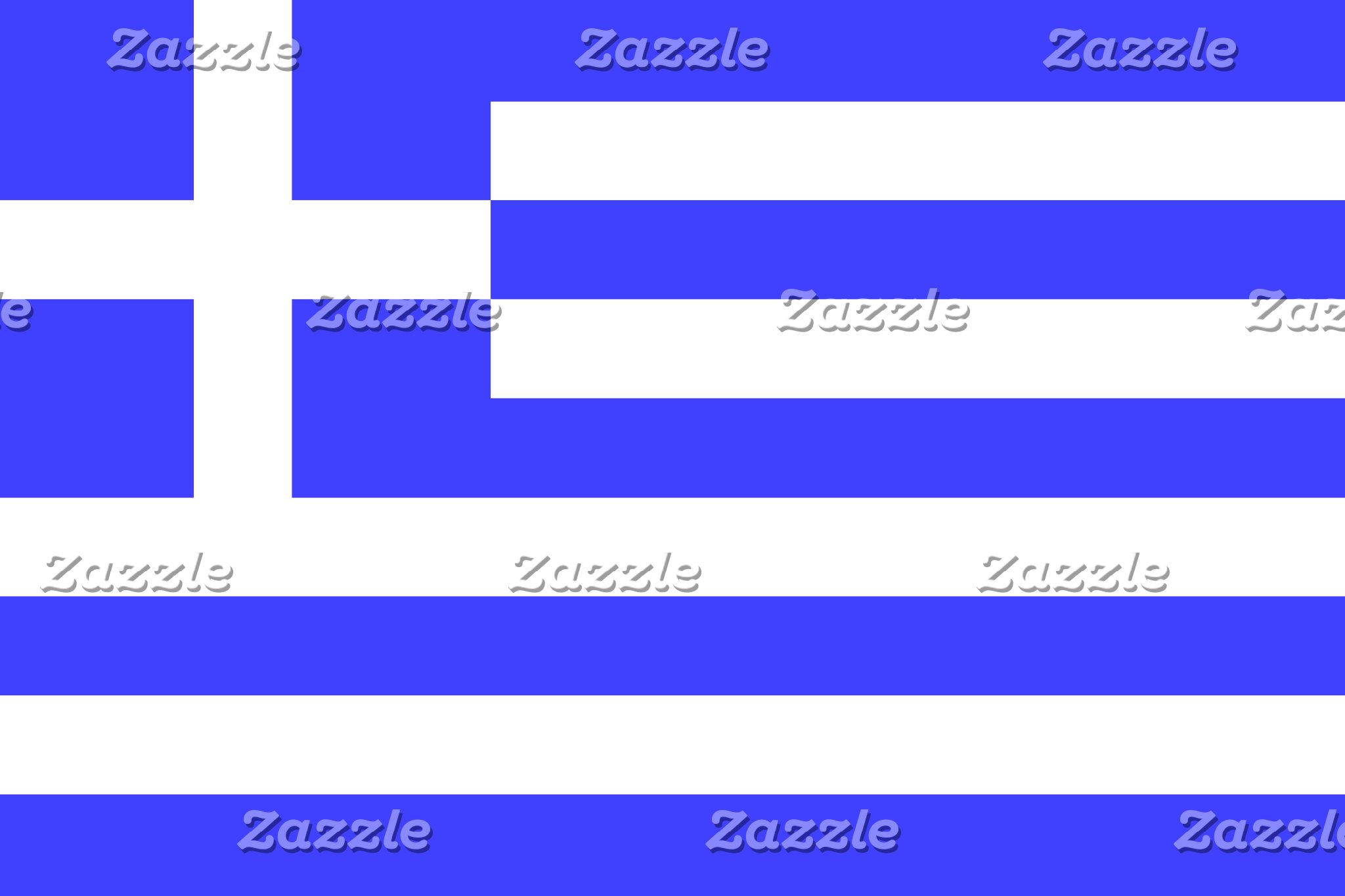 Greek Flag on Stuff
