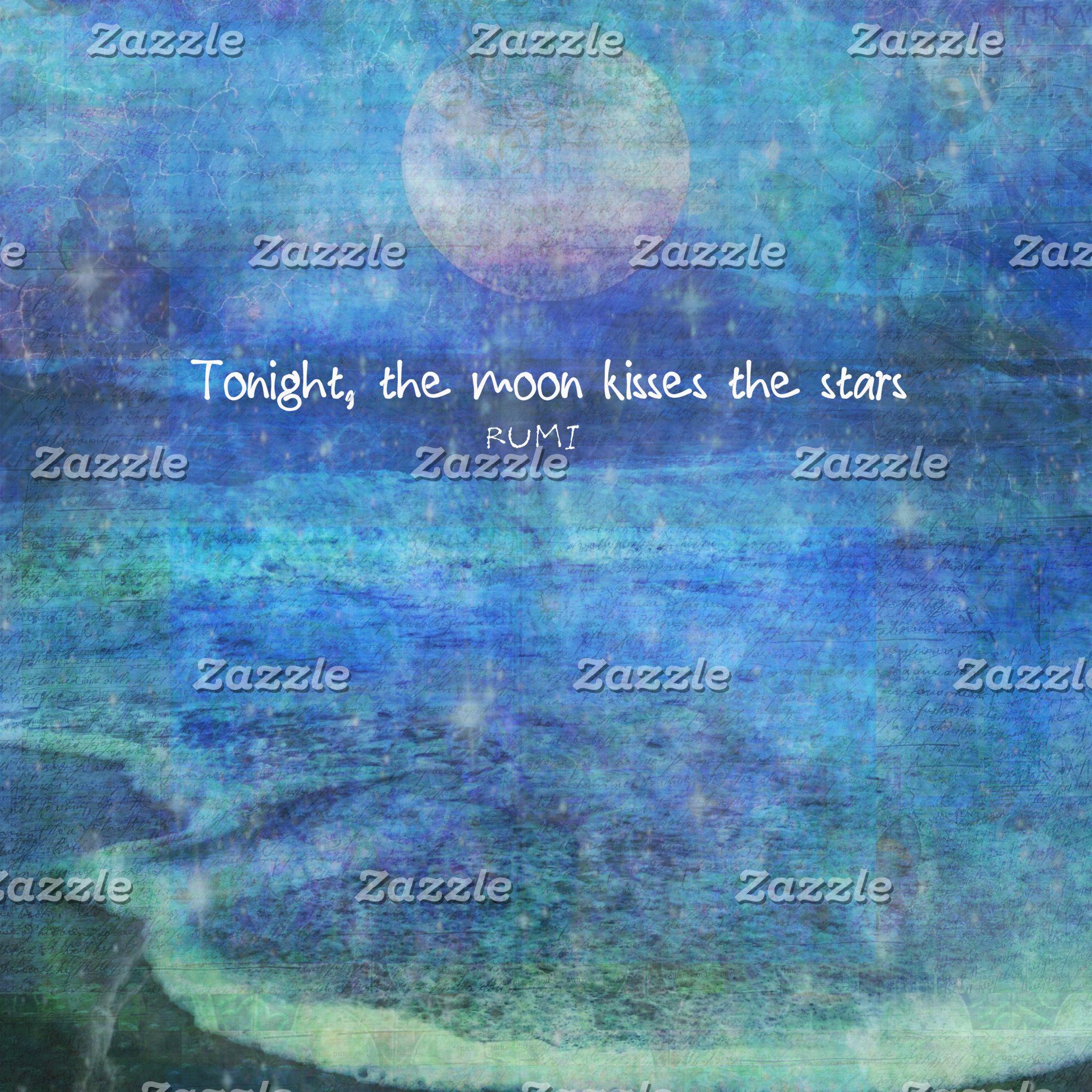 "Tonight, the moon kisses the stars."" - Rumi"