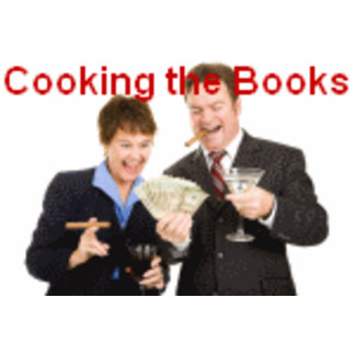 I'm Cooking the Books