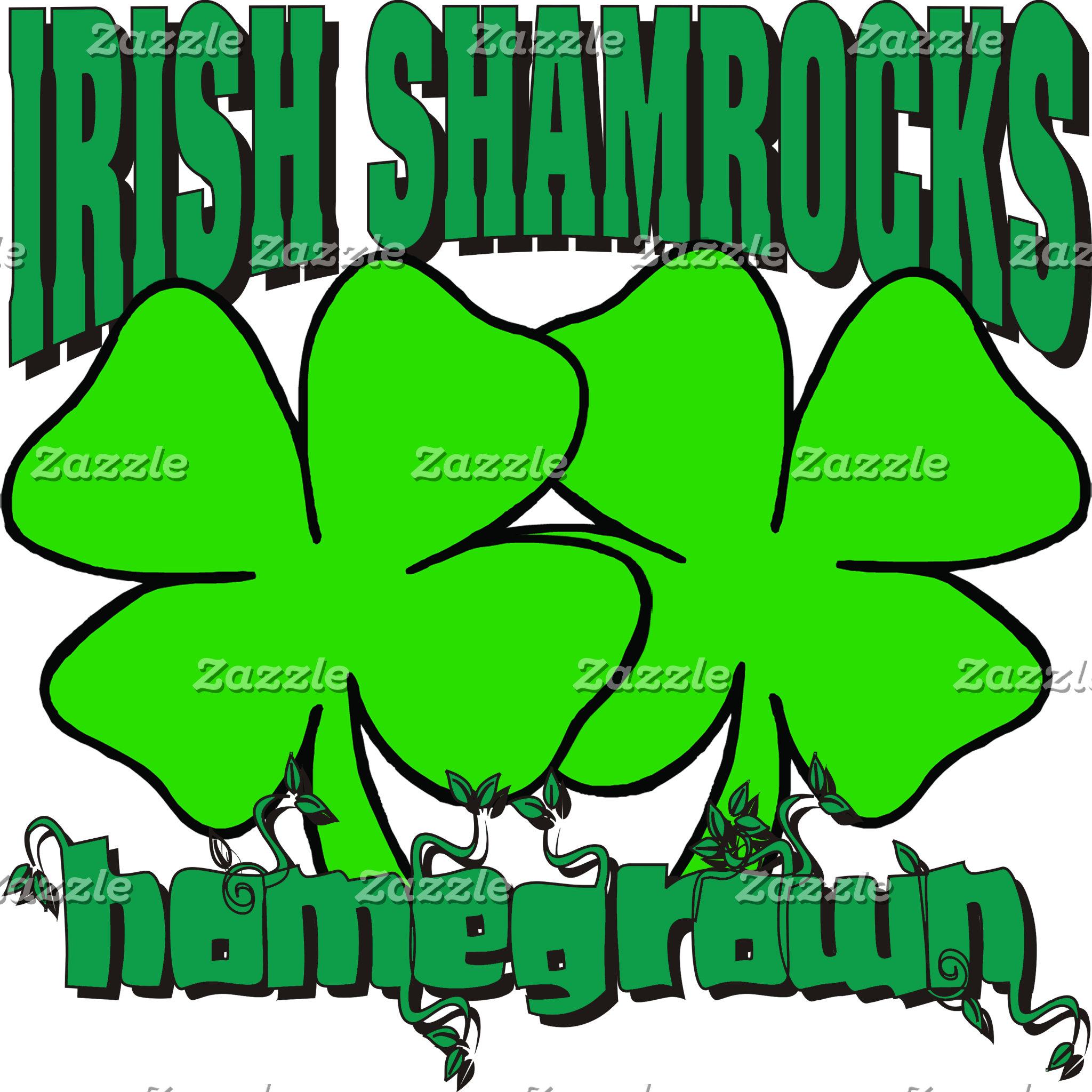 Homegrown Irish Shamrocks T-Shirt