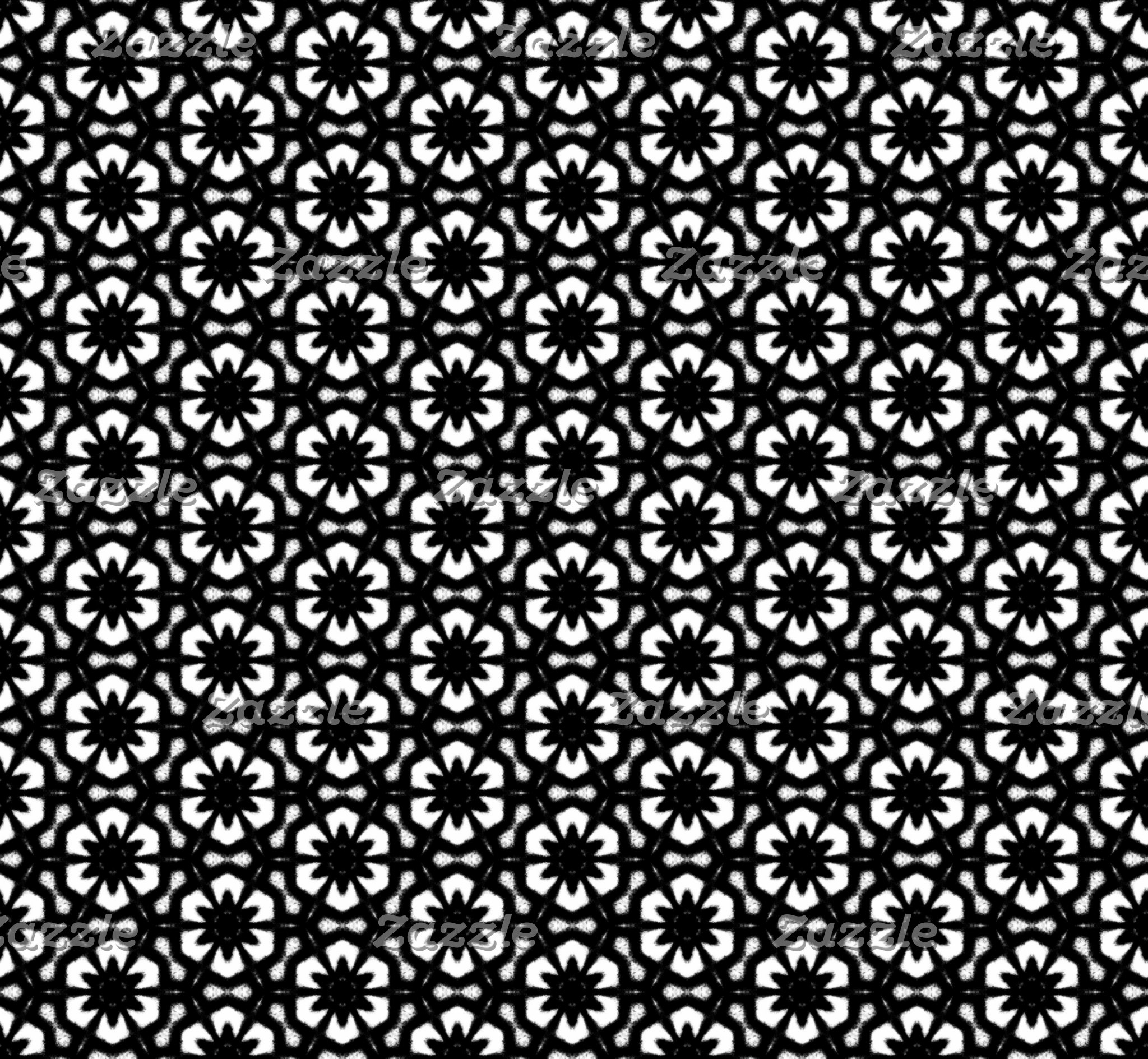 Black and White Patterns | Hexagons II