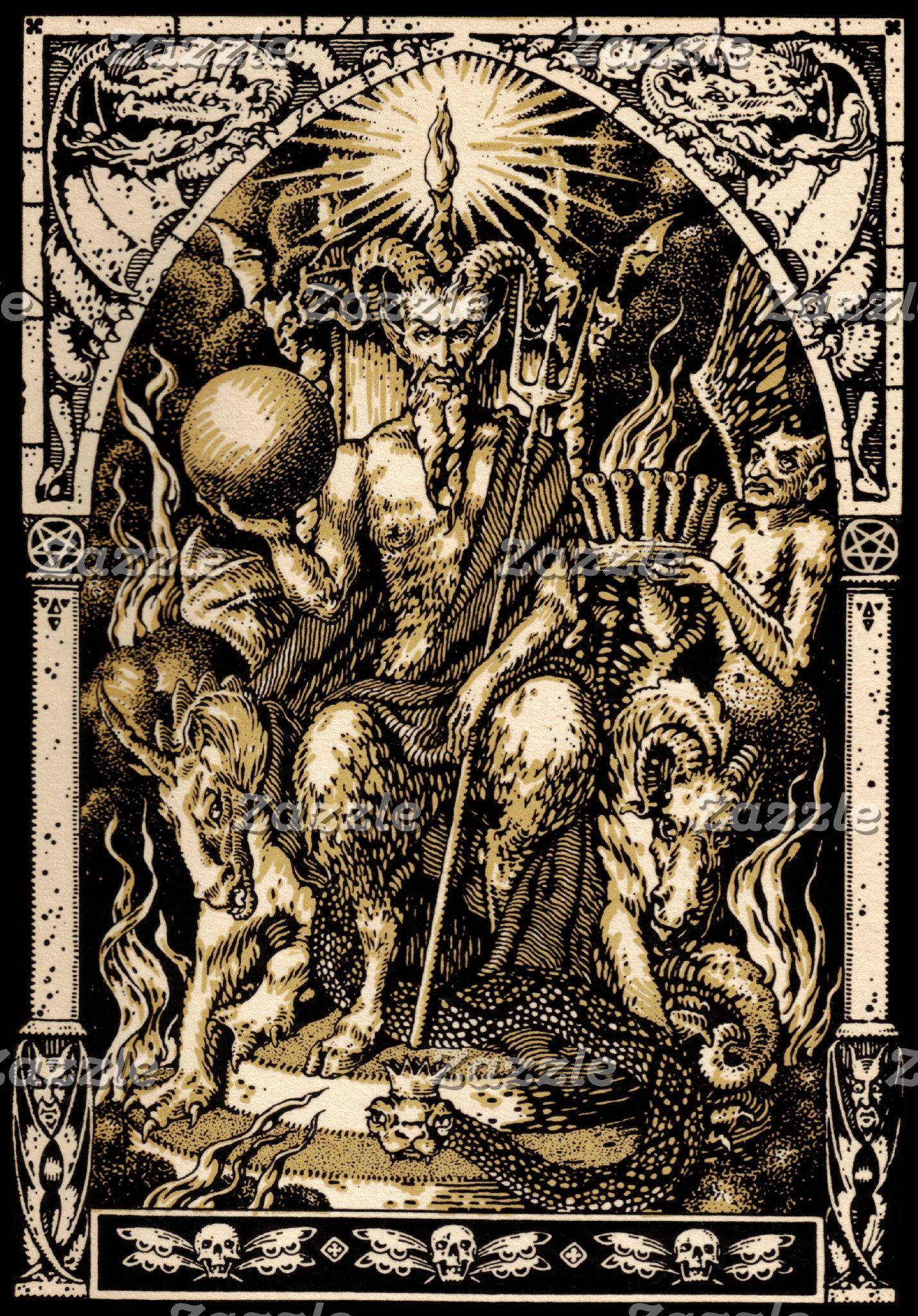 Satan Enthroned
