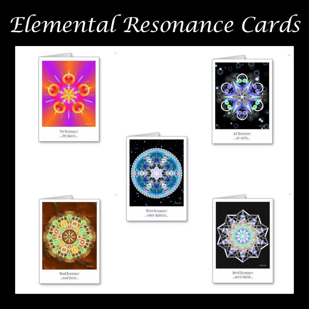 Elemental Resonance Cards
