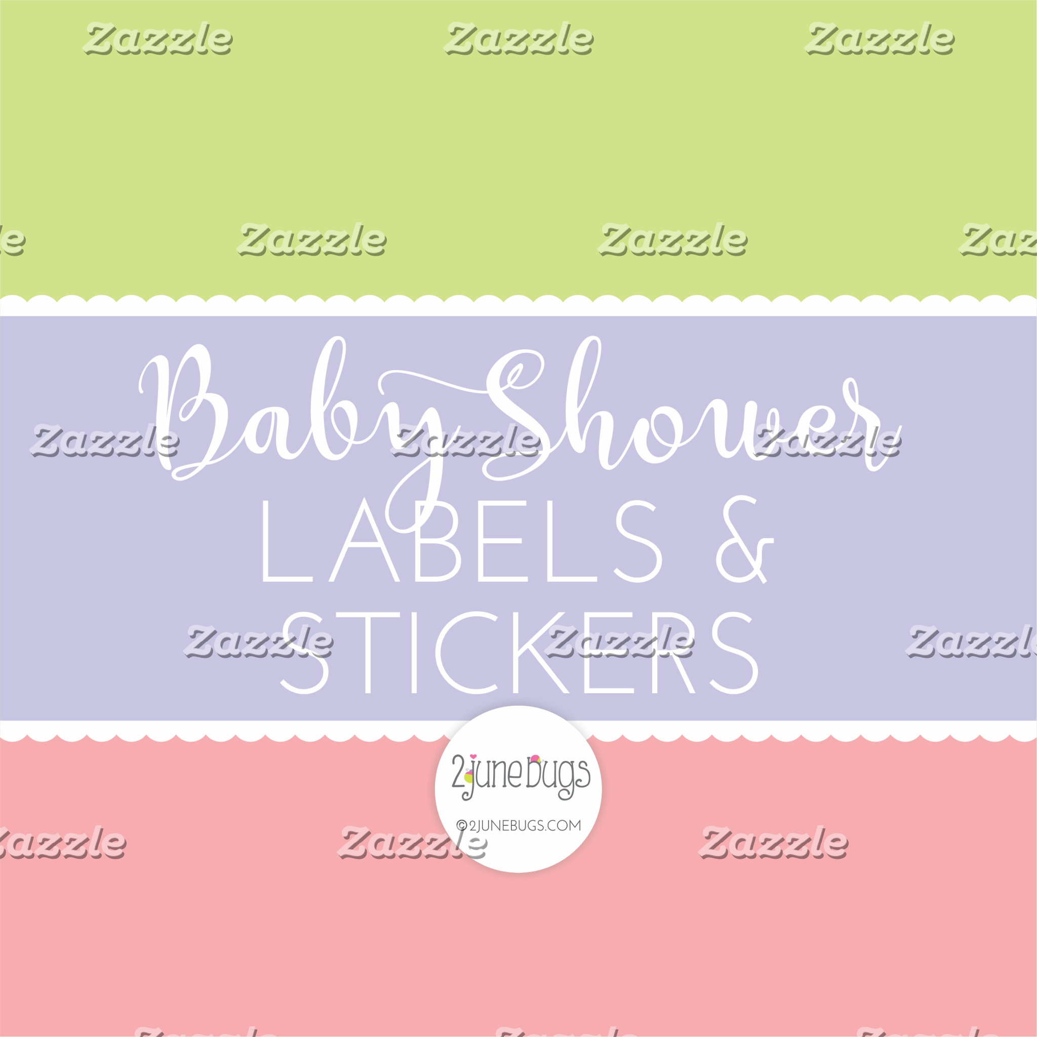 Baby Shower Labels and Stickers