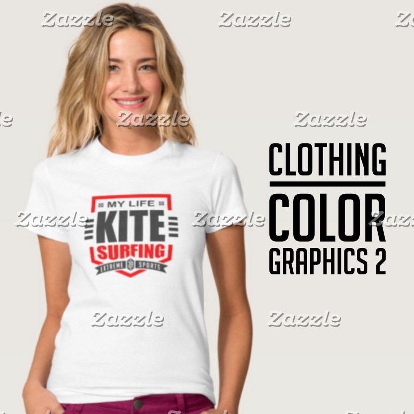Color Graphic Light Clothing