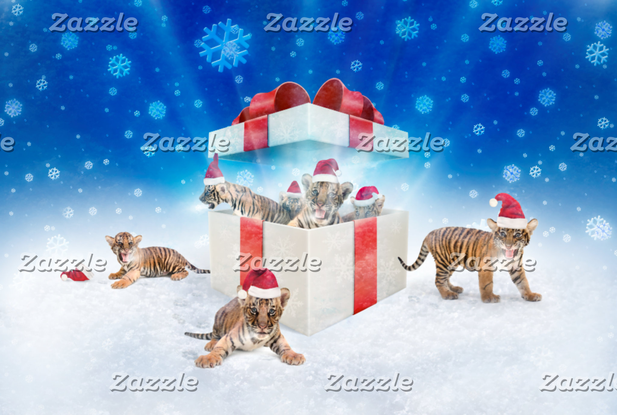 ► Christmas Tigers