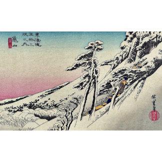 Kameyama  by Ando, Hiroshige Ukiyoe