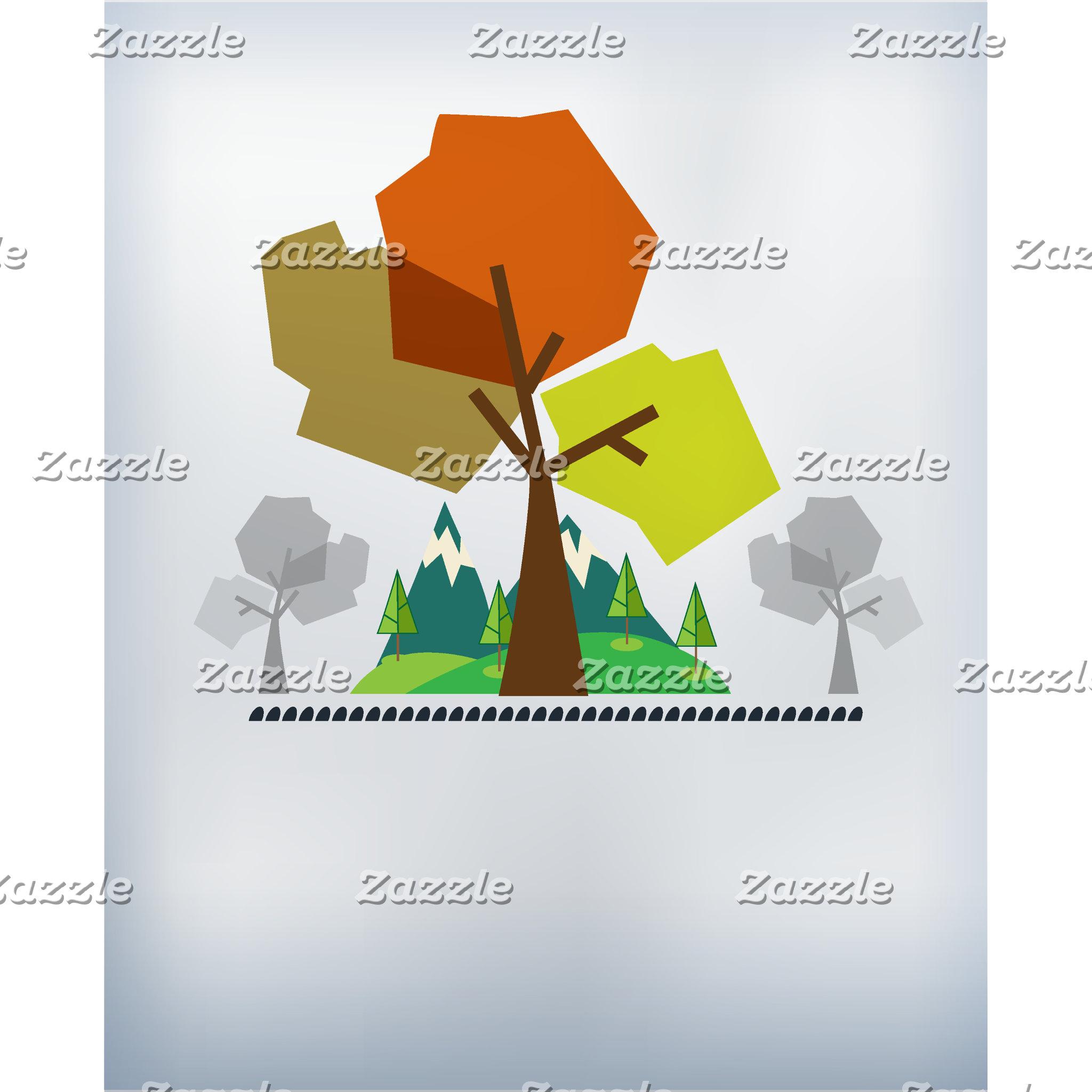 Nature Tree Customize Template